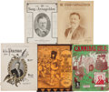Political:Small Paper (1896-present), Theodore Roosevelt: Five Pieces of Assorted Sheet Music....
