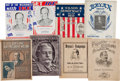 Political:Small Paper (pre-1896), Grover Cleveland et al: Eight Pieces of Assorted Sheet Music....
