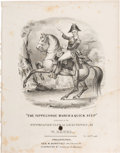 Political:Small Paper (pre-1896), William Henry Harrison: Pictorial Large Format Sheet Music....