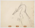 Animation Art:Production Drawing, Eric Cleworth Sleeping Beauty Animation Art (Walt Disney,1959)....
