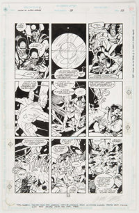 Chris Sprouse, Karl Story and Al Gordon Legion of Super-Heroes #33 Story Page 23 Original Art (DC, 1992)