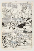 Original Comic Art:Panel Pages, Jackson Guice and Bob Layton Thor #356 Original Art (Marvel,1966)....