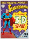 Golden Age (1938-1955):Superhero, Three-Dimension Adventures #nn Superman (National Periodicals, 1953) Condition: FN....