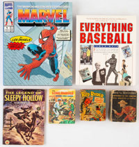 Comic Related Books Group of 6 (Various Publishers, 1940s-90s).... (Total: 6 Items)