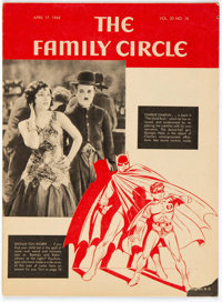 Family Circle V20#16 Batman Cover (Family Circle Inc., 1942) Condition: VG