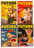 Pulps:Science Fiction, Future Group of 12 (Columbia, 1950-52) Condition: Average FN....(Total: 12 Comic Books)