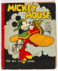 Big Little Book:Cartoon Character, Big Little Book #nn Mickey Mouse the Mail Pilot (Whitman, 1933) Condition: VG+....