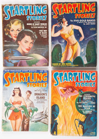 Startling Stories Group of 7 (Standard, 1950-53) Condition: Average VG.... (Total: 7 Items)
