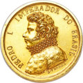 Brazil, Brazil: Pedro I gold Medal for the Foundation of the Academy ofFine Arts 1826 Good XF - surface hairlines, rim bump,...