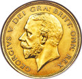 Great Britain, Great Britain: George V gold Proof Pattern 1/2 Crown 1927 PR64 NGC,...