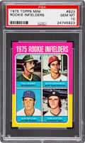 Baseball Cards:Singles (1970-Now), 1975 Topps Mini Keith Hernandez - Rookie Infielders #623 PSA Gem Mint 10 - Pop Two! ...