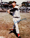 Baseball Collectibles:Photos, 1990s Ted Williams Signed Photograph. ...
