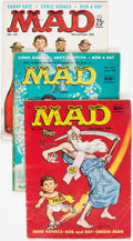 Magazines:Mad, MAD Box Lot (EC, 1958-76) Condition: Average GD/VG....