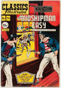 Golden Age (1938-1955):Classics Illustrated, Classics Illustrated #74 Mr. Midshipman Easy - First Edition (Gilberton, 1950) Condition: VG+....