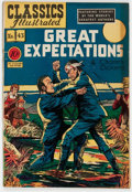 Golden Age (1938-1955):Classics Illustrated, Classics Illustrated #43 Great Expectations - First Edition(Gilberton, 1947) Condition: FN-....