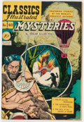 Golden Age (1938-1955):Classics Illustrated, Classics Illustrated #40 Mysteries - First Edition (Gilberton,1947) Condition: VG....