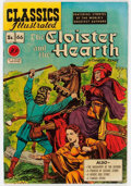 Golden Age (1938-1955):Classics Illustrated, Classics Illustrated #66 The Cloister and the Hearth - First Edition(Gilberton, 1949) Condition: FN/VF....