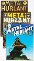Magazines:Miscellaneous, Métal Hurlant #1, 2, and 5 Group (Métal Hurlant, 1974-75)Condition: Average FN.... (Total: 3 Items)