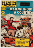 Golden Age (1938-1955):Classics Illustrated, Classics Illustrated #63 The Man Without a Country - First Edition(Gilberton, 1949) Condition: VF-....