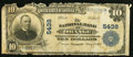 National Bank Notes:Virginia, Orange, VA - $10 1902 Plain Back Fr. 633 The NB of Orange Ch. # 5438. ...