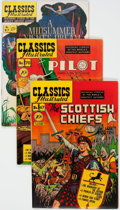 Golden Age (1938-1955):Classics Illustrated, Classics Illustrated -- First Editions Group of 5 (Gilberton,1950-69) Condition: Average VF.... (Total: 5 Comic Books)