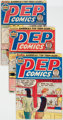 Pep Comics Group of 20 (Archie, 1949-64) Condition: Average GD.... (Total: 20 Comic Books)