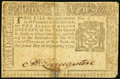Colonial Notes:New York, New York September 2, 1775 $2 Very Fine.. ...
