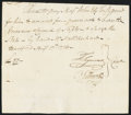 Colonial Notes:Connecticut, Connecticut Handwritten Pay Voucher £50 August 17, 1776.. ...