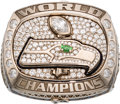 Football Collectibles:Others, 2013 Seattle Seahawks Super Bowl XLVIII Championship Ring.. ...