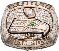 2013 Seattle Seahawks Super Bowl XLVIII Championship Ring