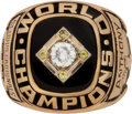 Baseball Collectibles:Others, 1967 St. Louis Cardinals World Series Championship Ring.. ...