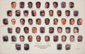 Basketball Collectibles:Others, 1996 NBA's 50 Greatest Players Signed Lithograph. ...