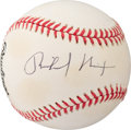 Baseball Collectibles:Balls, 1993-94 Richard Nixon Single Signed Baseball ...