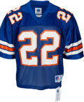 Football Collectibles:Uniforms, 1989 Emmitt Smith Game Worn & Signed University of FloridaGators Jersey--Photo Matched with Smith Letter!. ...