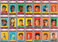 Baseball Cards:Sets, 1958 Topps Baseball PSA-Graded Partial Set (326/494) - Every Card NM or NM-MT! ...