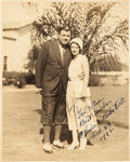 Baseball Collectibles:Photos, 1932 Babe Ruth Signed Photograph to Teammate George Pipgras. ...