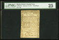 Colonial Notes:Rhode Island, Rhode Island January 15, 1776 10s PMG Very Fine 25.. ...