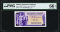 Military Payment Certificates:Series 692, Series 692 50¢ PMG Gem Uncirculated 66 EPQ.. ...