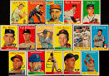 Autographs:Sports Cards, Signed 1958 Topps Baseball Card Collection (16). . ...
