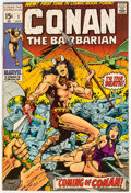 Bronze Age (1970-1979):Adventure, Conan the Barbarian #1 (Marvel, 1970) Condition: NM-....