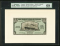 Canadian Currency, Georgetown, British Guiana-Royal Bank of Canada $5 1.3.1938 Ch.#630-38-02FP and #630-38-02BP Front and Back Proofs.. ... (Total: 2notes)