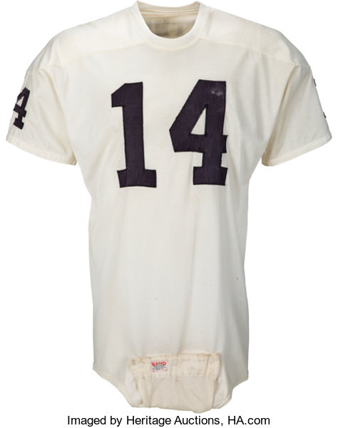 huge selection of 351d5 54d35 1965-66 Fred Biletnikoff Game Worn Oakland Raiders Rookie ...