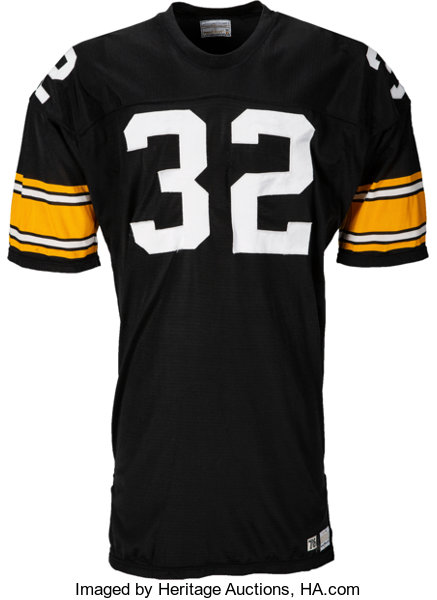 7fee33488 Football Collectibles:Uniforms, 1976 Franco Harris Game Worn Pittsburgh  Steelers Jersey, MEARSA10.