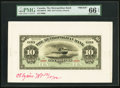 Canadian Currency, Toronto, ON- The Metropolitan Bank $10 11.5.1902 Ch. #485-10-08FPand #485-10-08BP Front and Back Proofs.. ... (Total: 2 notes)