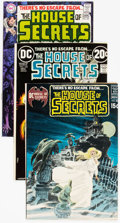 Bronze Age (1970-1979):Horror, House of Secrets Group of 5 (DC, 1969-73) Condition: AverageFN/VF.... (Total: 5 Comic Books)