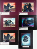 Memorabilia:Comic-Related, Edward Beard Jr. - Fantasy Limited Edition Prints Group of 6 (c.1999).... (Total: 6 Items)