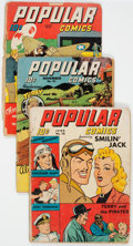 Golden Age (1938-1955):Miscellaneous, Popular Comics Group of 52 (Dell, 1942-48) Condition: Average GD.... (Total: 52 Comic Books)