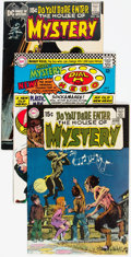 Bronze Age (1970-1979):Horror, House of Mystery/House of Secrets Group of 21 (DC, 1961-71)Condition: Average FN.... (Total: 21 Comic Books)