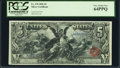 Large Size, Fr. 270 $5 1896 Silver Certificate PCGS Very Choice New 64PPQ.. ...