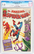 Silver Age (1956-1969):Superhero, The Amazing Spider-Man #21 (Marvel, 1965) CGC FN/VF 7.0 Off-white pages....